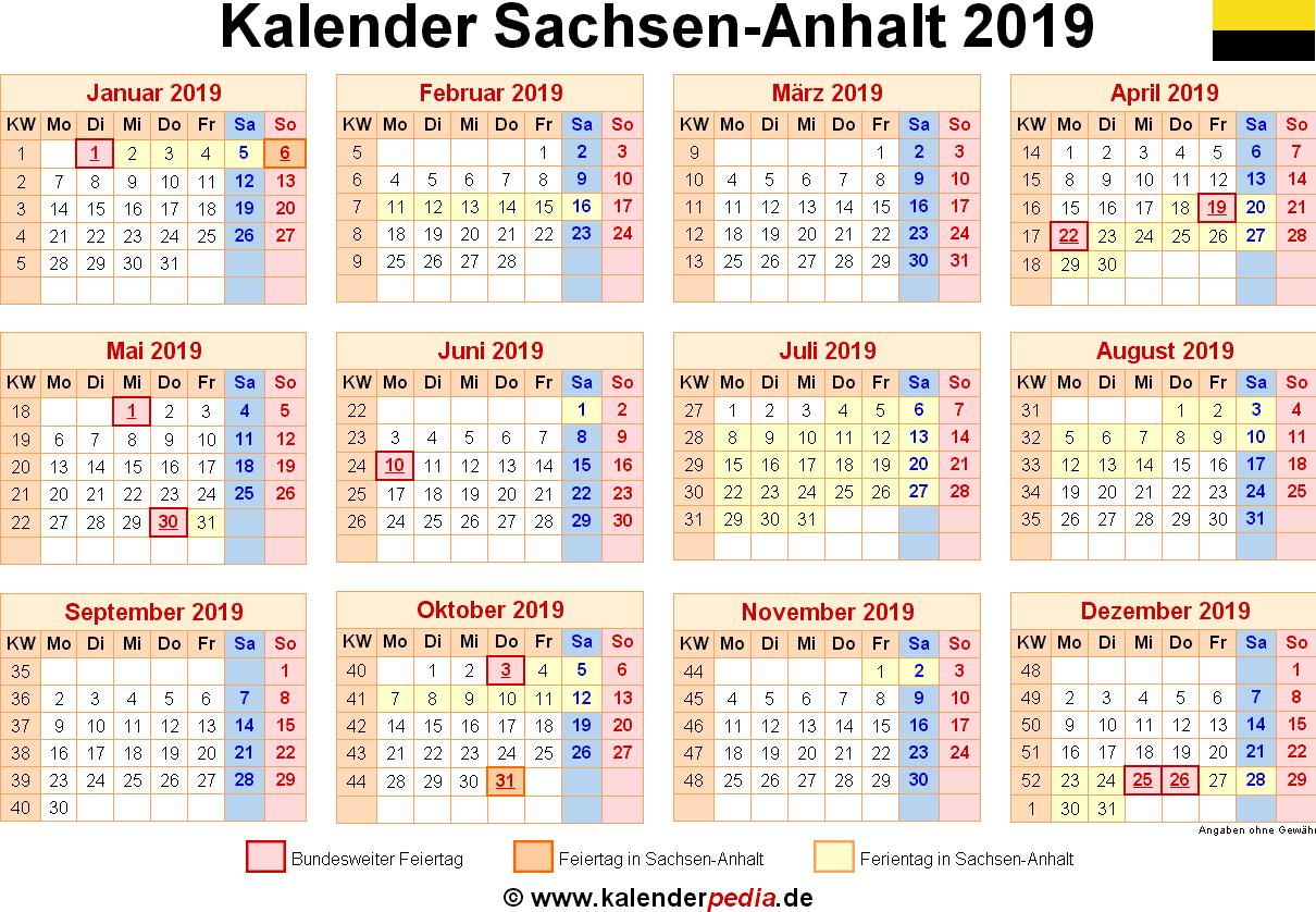sommerferien sachsen anhalt 2018