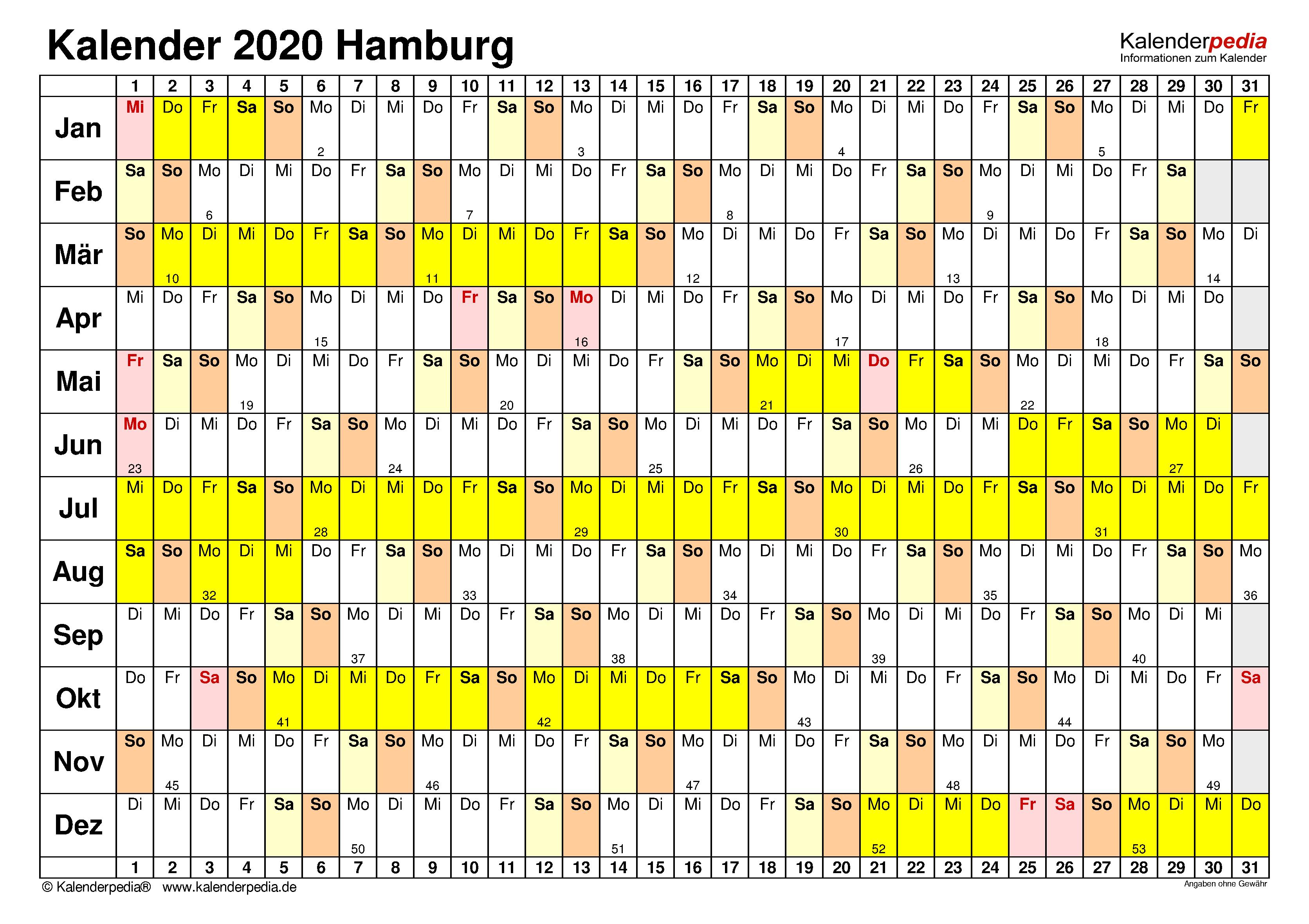 ferien hamburg 2019