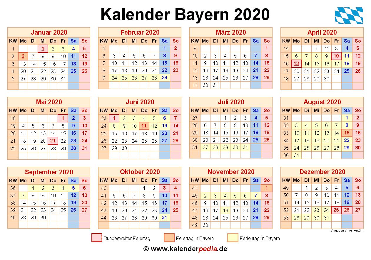 Bayrische ferien 2020
