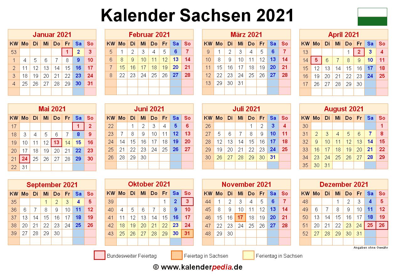 feiertage sachsen 2021