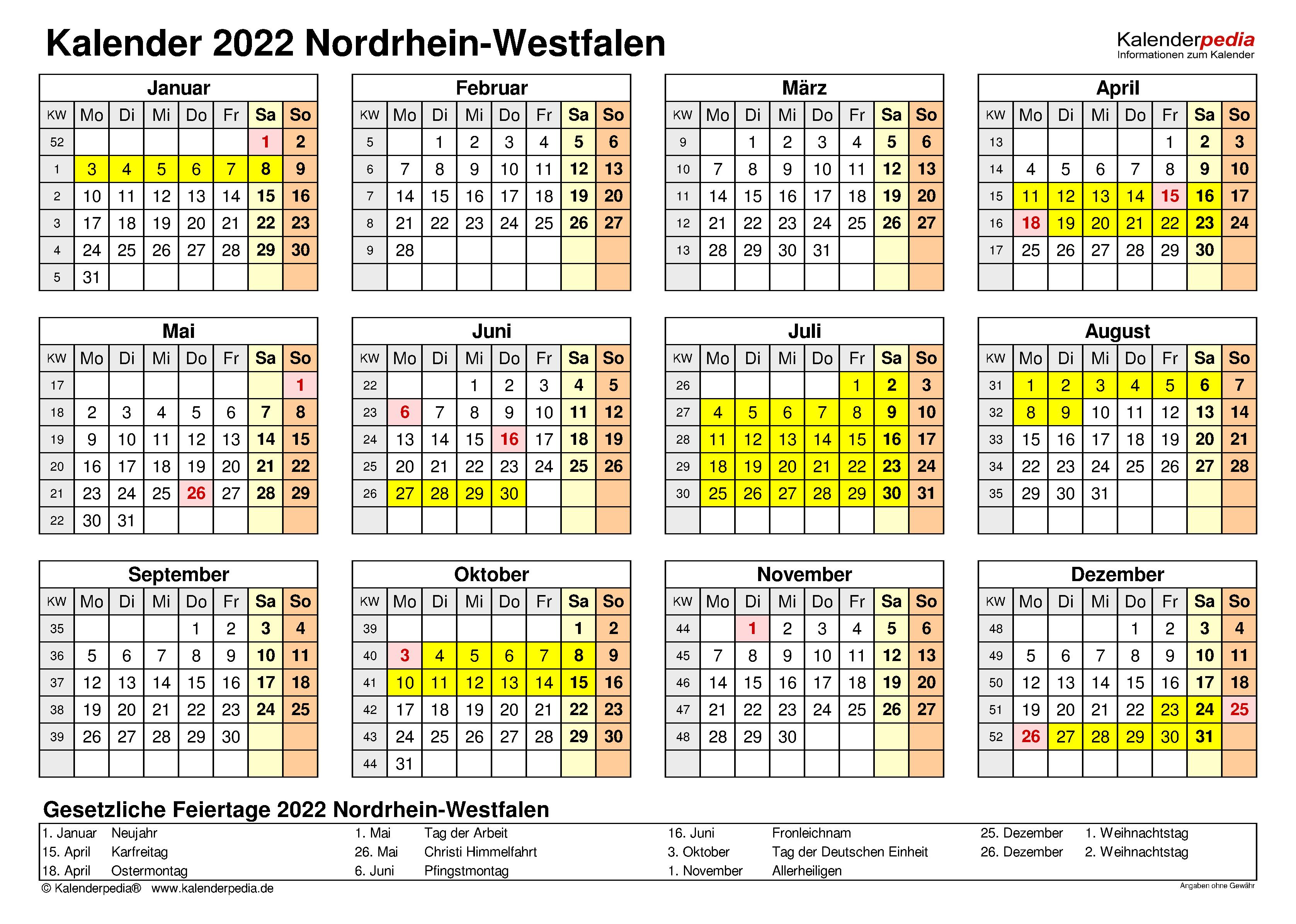 ostern 2022 nrw