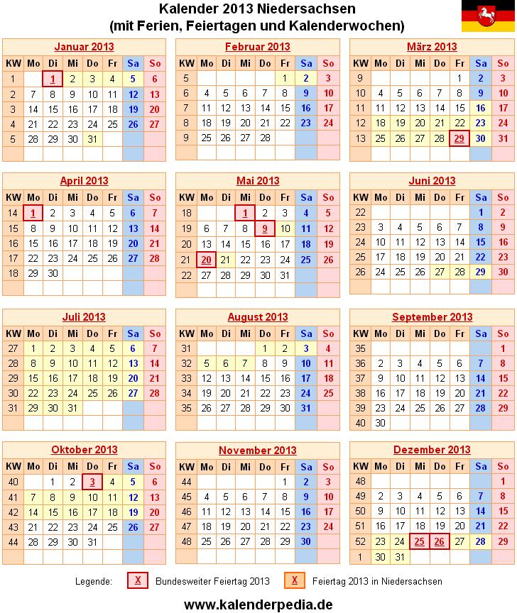 2011 niedersachsen kalender Kalender 2012