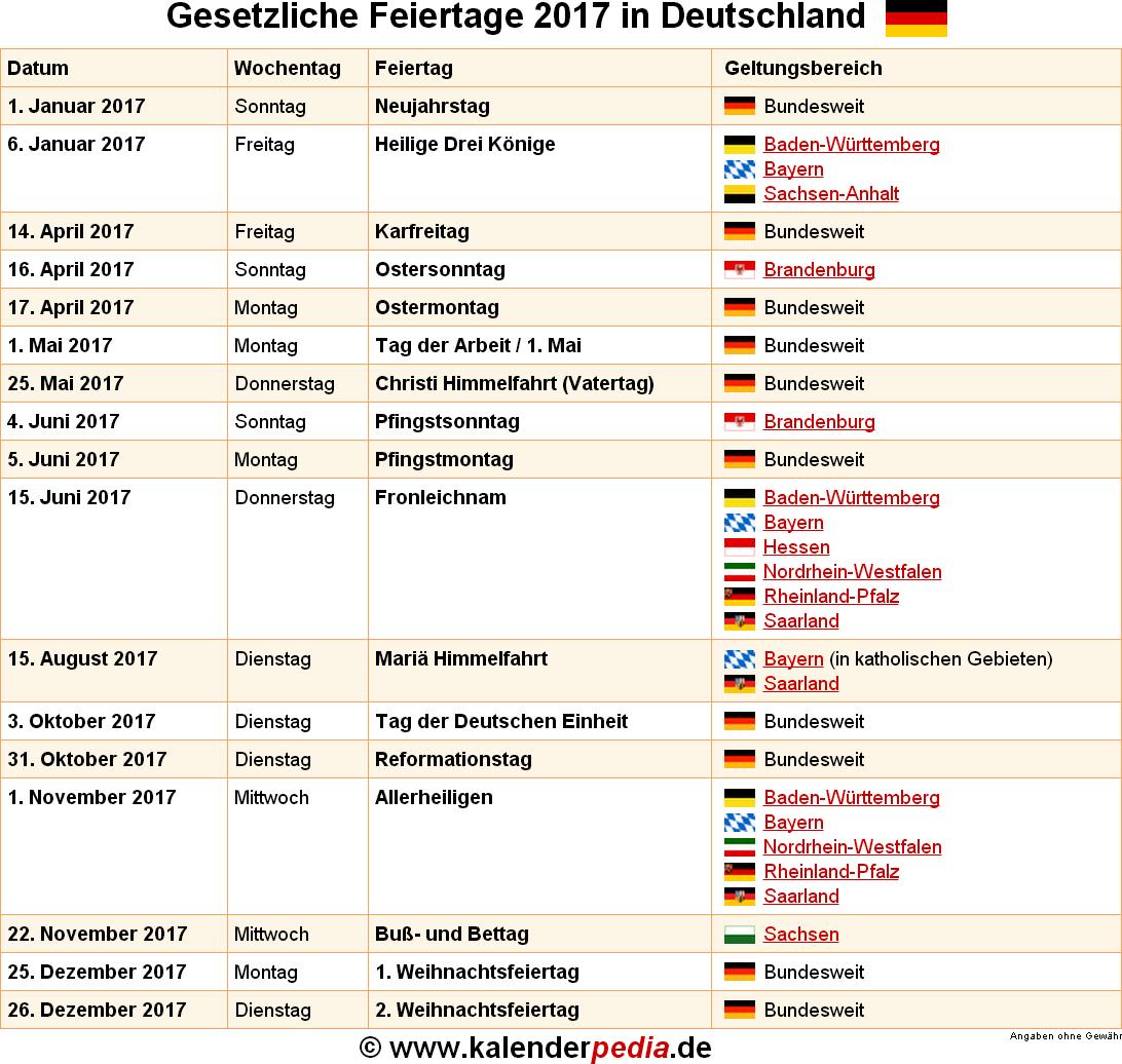feiertage baden-württemberg 2017