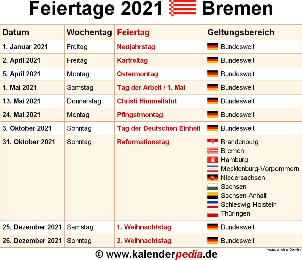 Feiertag Im Mai 2021