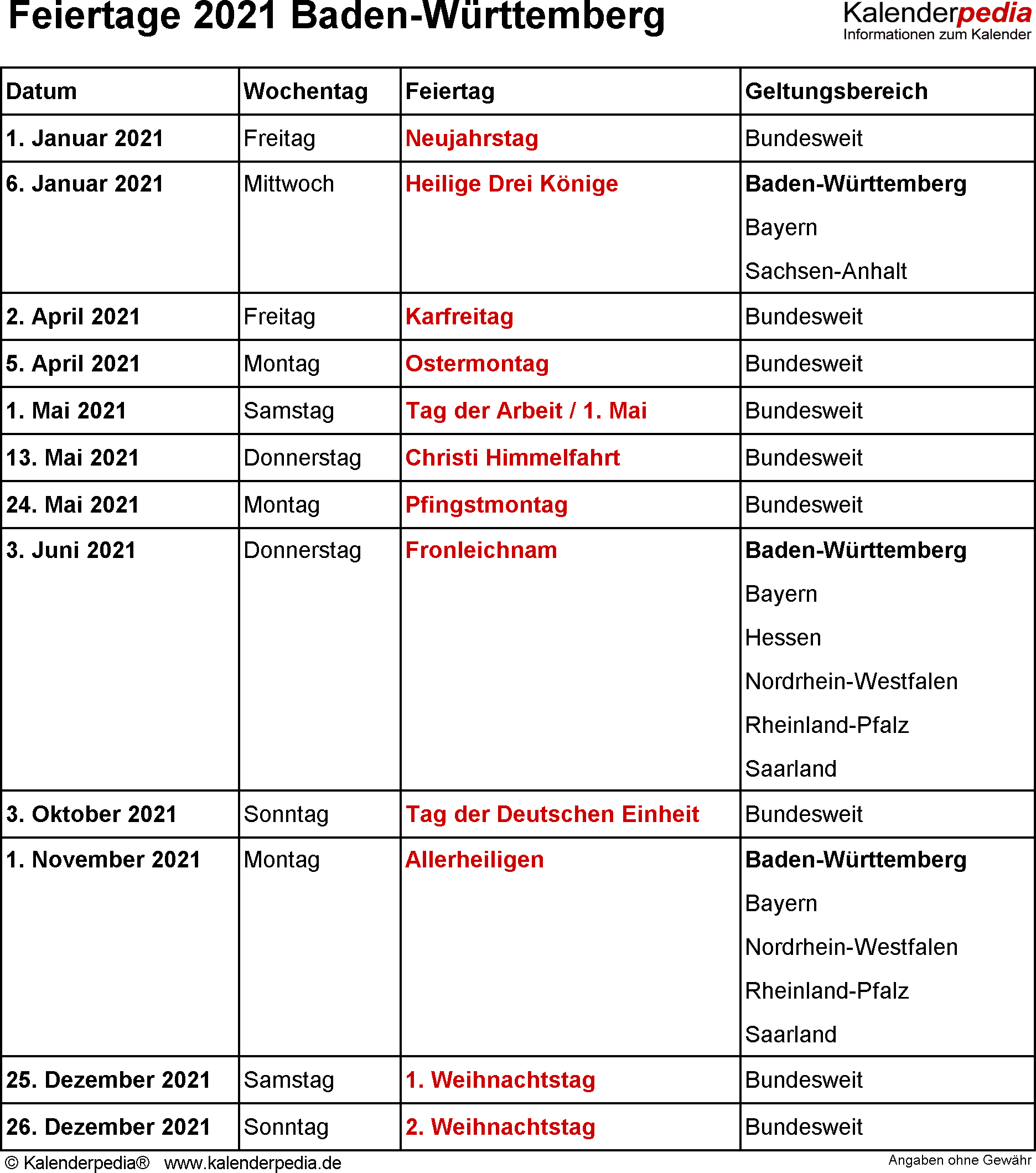 kalender 2020 nrw feiertage