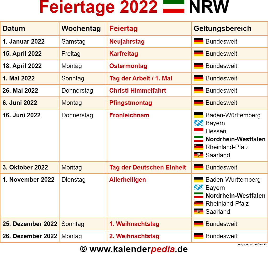 Feiertage Im Jahr 2021