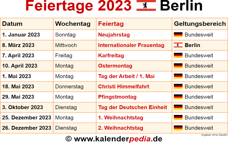 Karfreitag 2021 Berlin