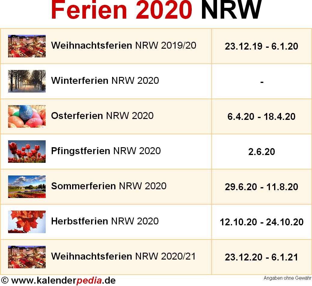 Nrw Weihnachtsferien 2021