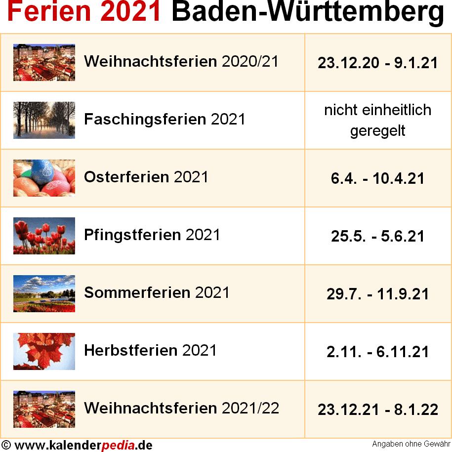 Ferien 2021/19 Berlin