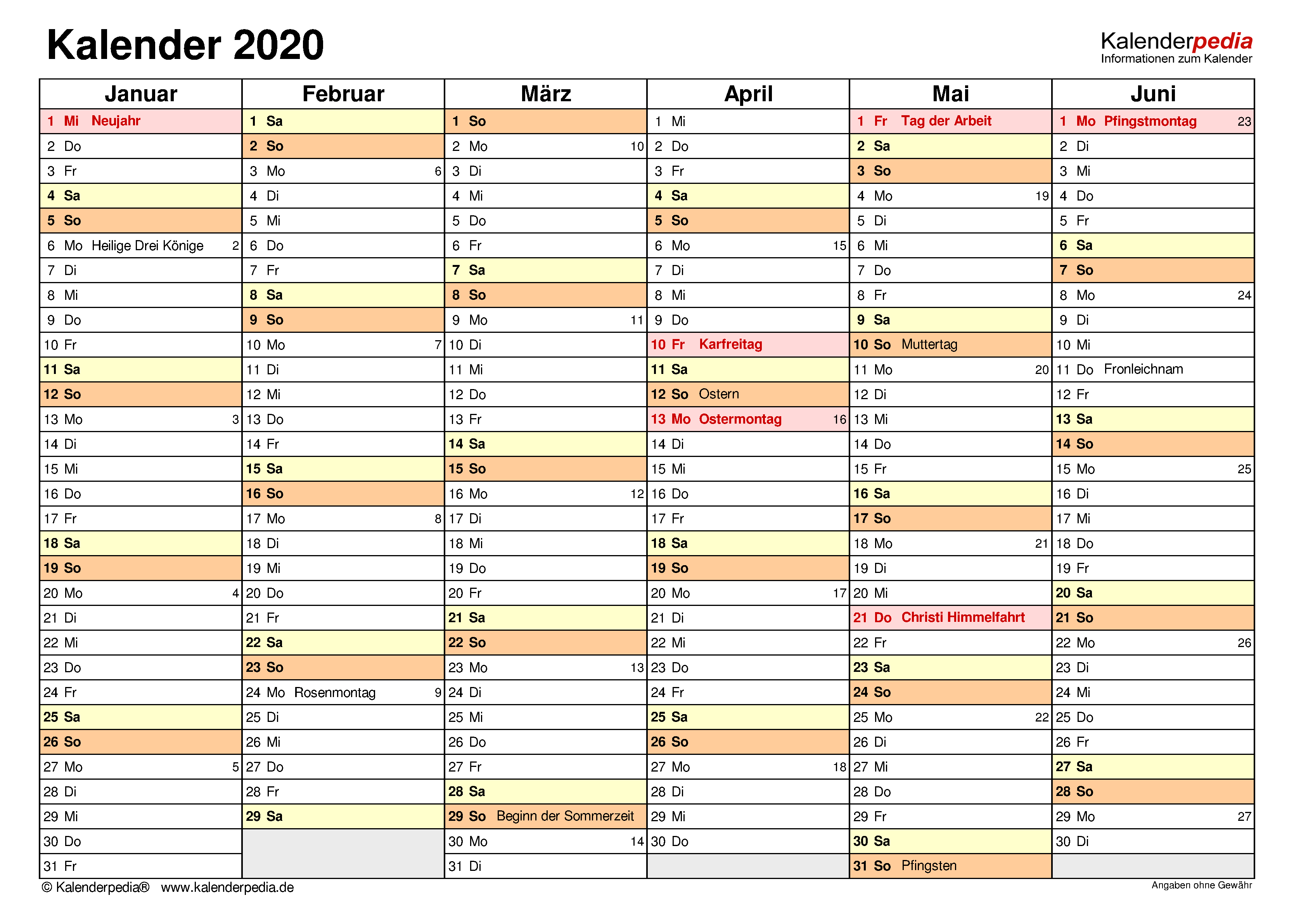 Kalender Mai 2019 Querformat Als Word Vorlage