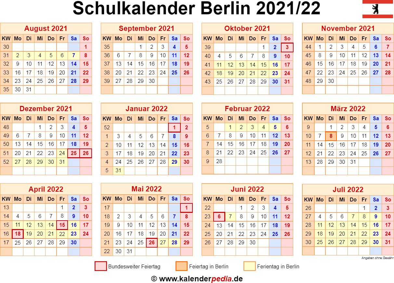 Winterferien Berlin 2021