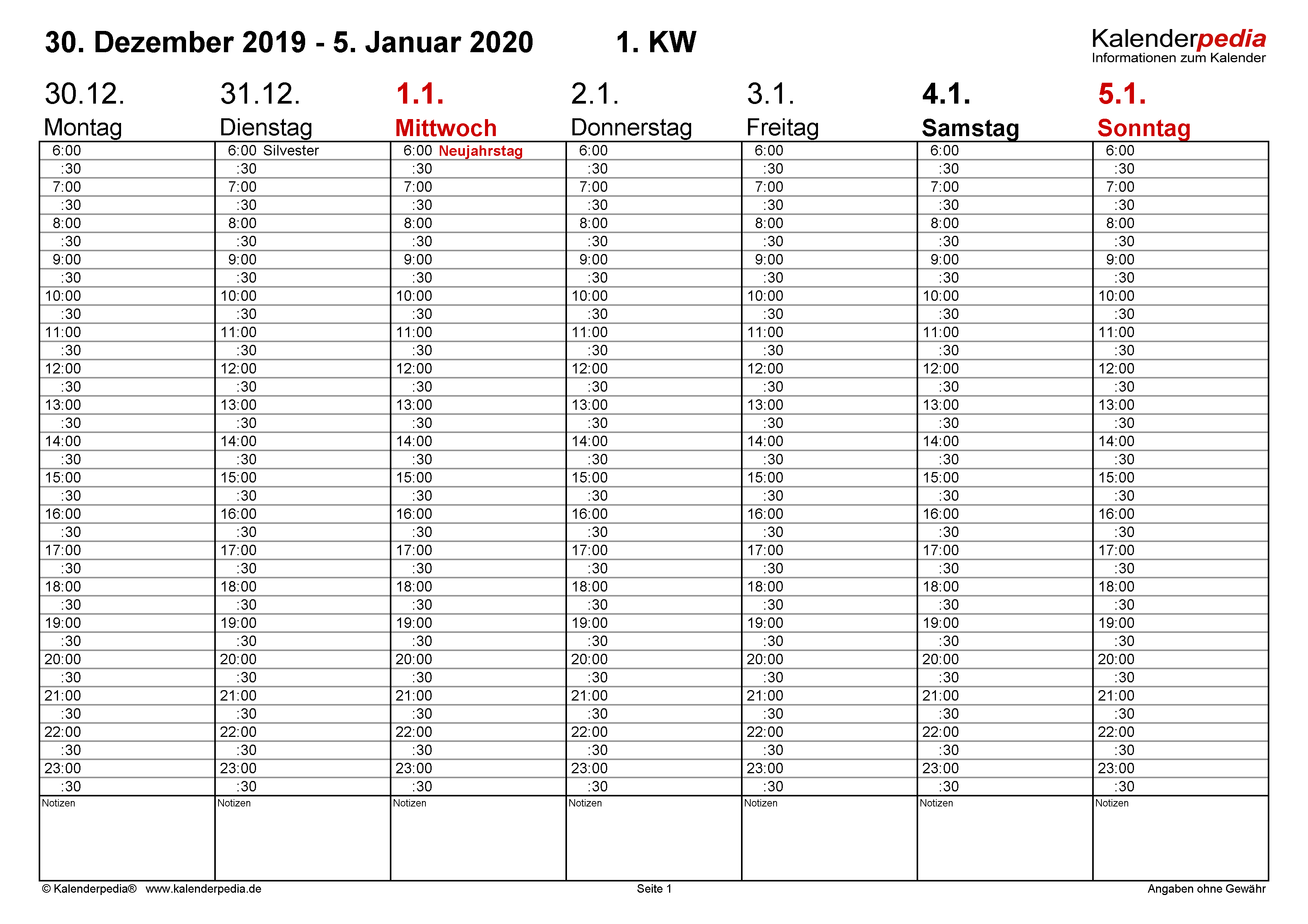 Kalenderblatt 2021 Excel / 2020 Printable Calendar - PDF ...