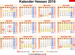 kalender 2016 hessen ferien feiertage word vorlagen. Black Bedroom Furniture Sets. Home Design Ideas