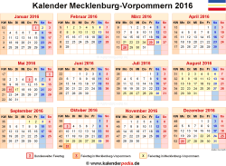 kalender 2016 mecklenburg vorpommern ferien feiertage pdf vorlagen. Black Bedroom Furniture Sets. Home Design Ideas