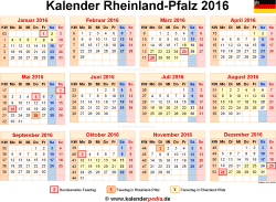kalender 2016 rheinland pfalz ferien feiertage pdf vorlagen. Black Bedroom Furniture Sets. Home Design Ideas