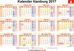 kalender 2017 hamburg ferien feiertage excel vorlagen. Black Bedroom Furniture Sets. Home Design Ideas