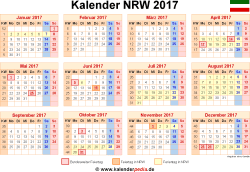 kalender 2017 nrw in excel takvim kalender hd. Black Bedroom Furniture Sets. Home Design Ideas