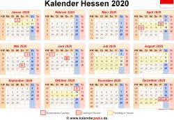 Feiertage In HeГџen 2020