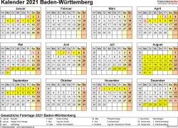 Ferientage Baden Wurttemberg 2020 Baden
