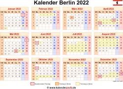 Kalender 2022 Berlin