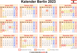 Kalender 2023 Berlin