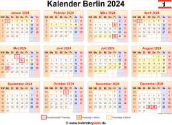 Kalender 2024 Berlin