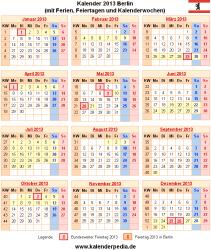 Kalender 2013 Berlin