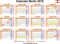 Kalender 2015 Berlin