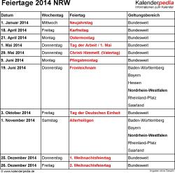 Feiertage Bayern November