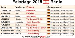 Weihnachten 2019 Berlin.Feiertage Berlin 2019 2020 2021 Mit Druckvorlagen