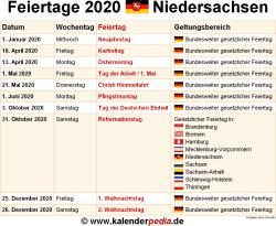 Karfreitag Niedersachsen