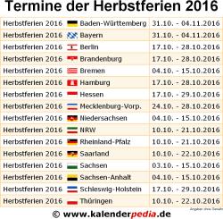 Herbstferien Hessen 2016 Schulferien Vinpearl Baidai Info