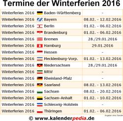 winterferien 2016 und 2017 in deutschland alle bundesl nder. Black Bedroom Furniture Sets. Home Design Ideas